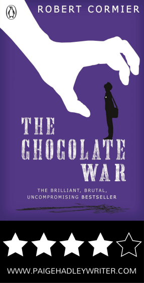 the chocolate war by robert cormier One of the most controversial ya novels of all time, the chocolate war is a modern masterpiece that speaks to fans of s e hinton's the outsiders.