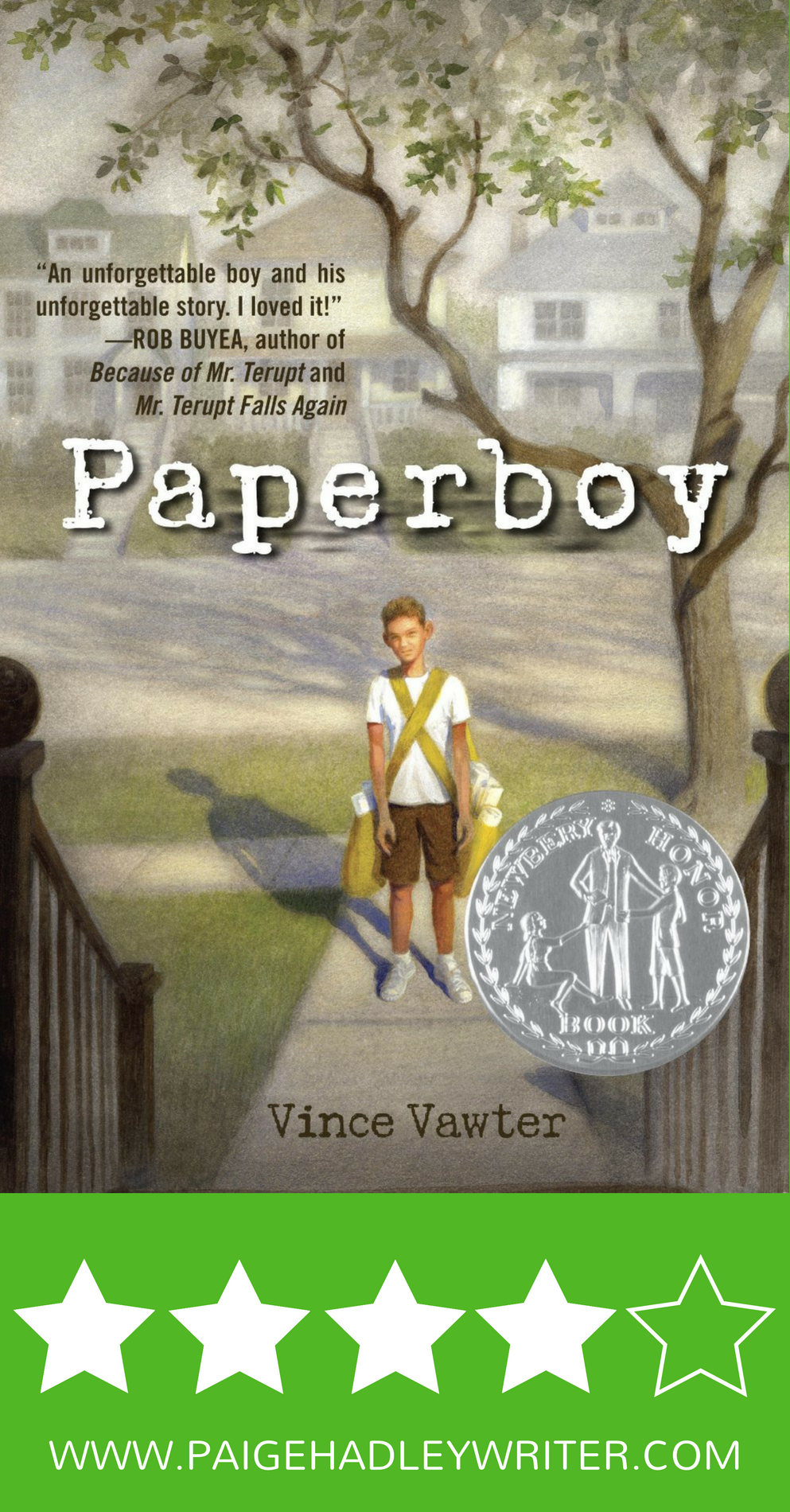 Book Review | Paperboy by Vince Vawter – Paige's Pages | Diverse ...