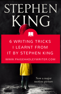 6 Writing Tricks I Learnt from IT by Stephen King Paige's Pages