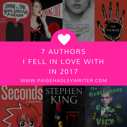 7 Authors I Fell In Love With In 2017 Paige's Pages
