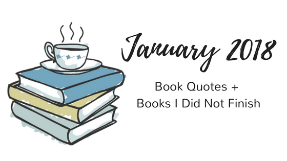 January 2018 Recap Paige's Pages