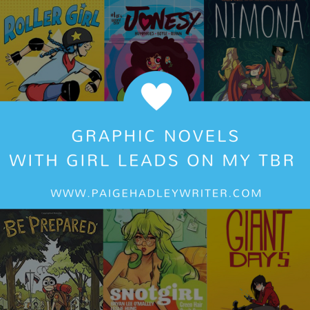 Graphic Novels with Girl Leads Paige's Pages
