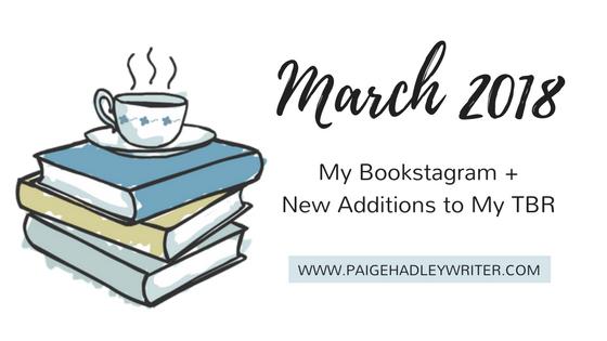 March 2018 Recap Paige's Pages
