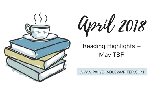 April Recap Paige's Pages 2018