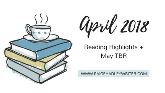 April Recap Paige's Pages 2018