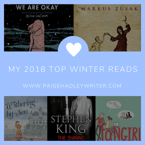 My 2018 Top Winter Reads